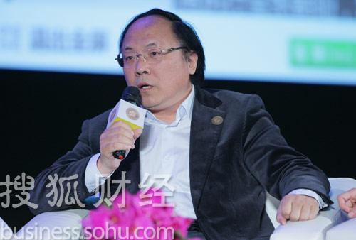 汉王科技董事长刘迎建 (刘丹摄)