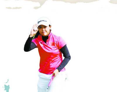 中国女子高尔夫球队队长黎佳韵