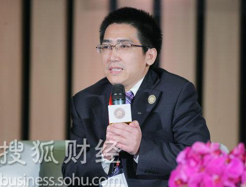 阳光壹佰置业集团董事长兼总裁易小迪 (王玉玺摄)