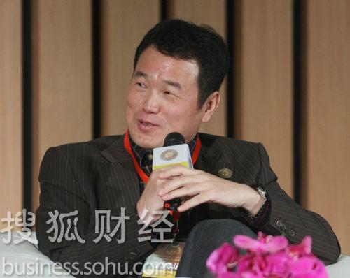 中坤投资董事长黄怒波 (王玉玺摄)