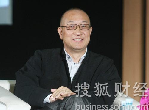 万通董事长冯仑 (王玉玺摄)