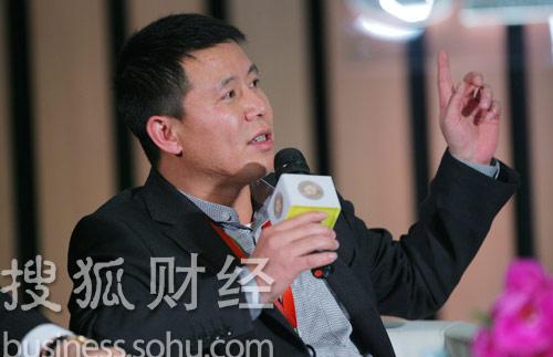 均瑶集团总裁王均豪 (刘丹摄)
