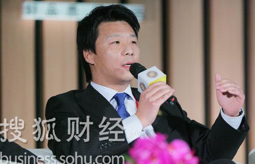 英利绿色能源执行董事李宗炜 (刘丹摄)