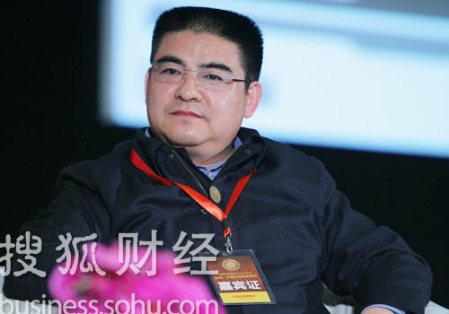 江苏黄埔再生资源利用有限公司董事长陈光标 (刘丹摄)