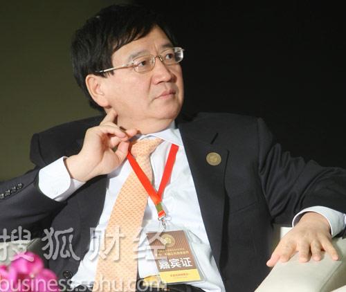 新东方联合创始人、欧美同学会2005委员会秘书长徐小平 (王玉玺摄)