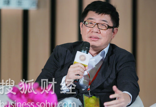 欢乐传媒总裁董朝晖 (刘丹摄)