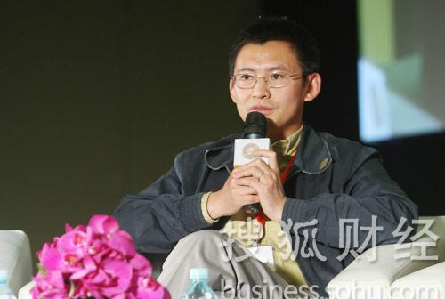 幸星数字娱乐科技有限公司总裁王利锋 (刘丹摄)