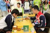 图文:围棋团体赛第六轮 赵汉乘九段VS高尾绅路