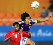 图文:男足决赛日本1-0阿联酋 双方奋不顾身