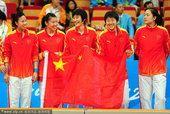 中国女篮擒韩国亚运3连冠 颁奖仪式上笑靥如花
