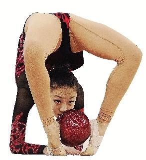 亚军人体艺术_广州亚运会体操 艺术体操动态       艺术体操是一门\
