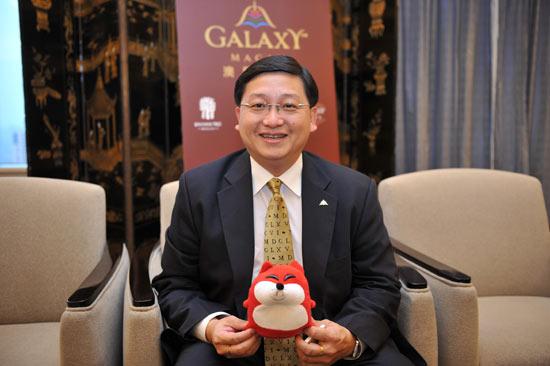 银河娱乐集团国际尊尚市场发展高级副总裁 叶燕民