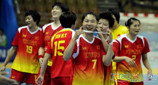 女子手球队