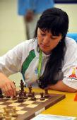 图文:国际象棋男子团体颁奖 比赛中