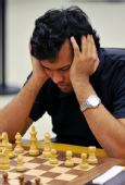 图文:国际象棋男子团体颁奖 加努利团体赛中