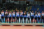 图文:亚运男排排球决赛 季军韩国队