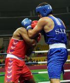 图文:男子拳击91公斤级 叙利亚选手夺冠