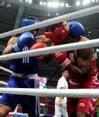 图文:男子拳击91公斤级 古桑夺冠