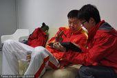 图文:广州亚运会 王治郅作客《亚运风云会》