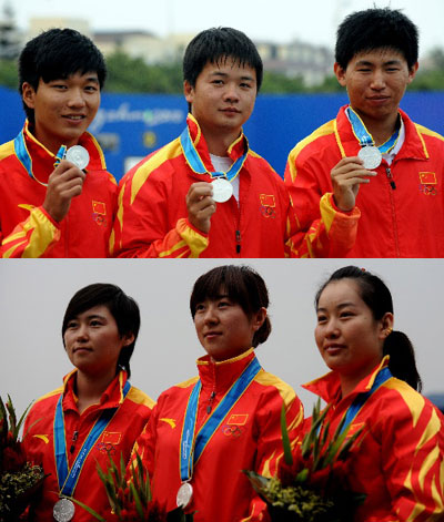 中国射箭队