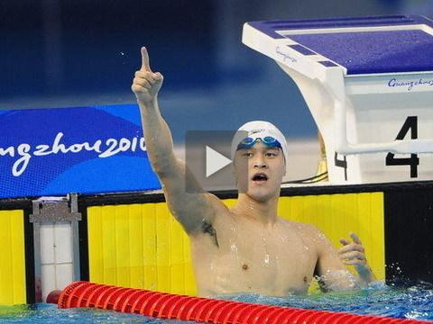 孙杨1500米距世界纪录不到1秒