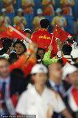 图文:广州亚运会第十五比赛日 王治郅