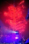 图文:广州亚运会第十五比赛日 烟火表演