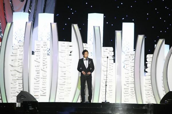 2010 MAMA颁奖典礼现场 颁奖嘉宾金东旭