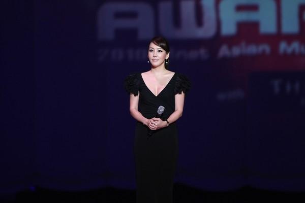 2010 MAMA颁奖典礼现场 颁奖嘉宾金正恩