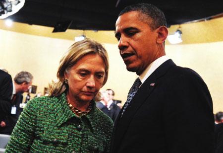 希拉里:总统先生,我们面临一场严重的外交危机(设计台词)