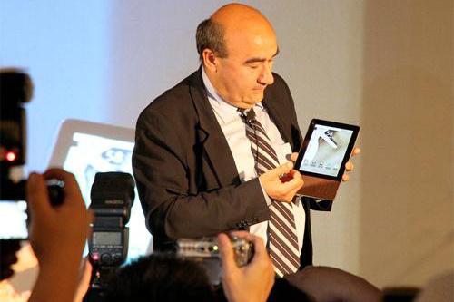 宏碁CEO谈平板 Windows办公Android针对媒体