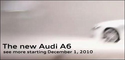 全新奥迪A6明日将发布