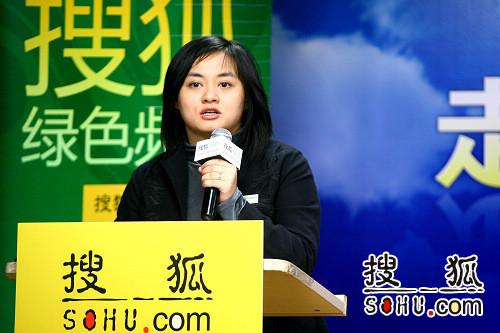 杨爱伦,绿色和平中国气候与能源项目经理
