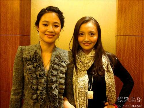 孙茜(右)和周韵(左)