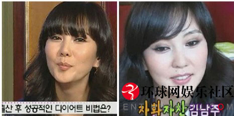 韩国女星产后素颜比拼[组图]