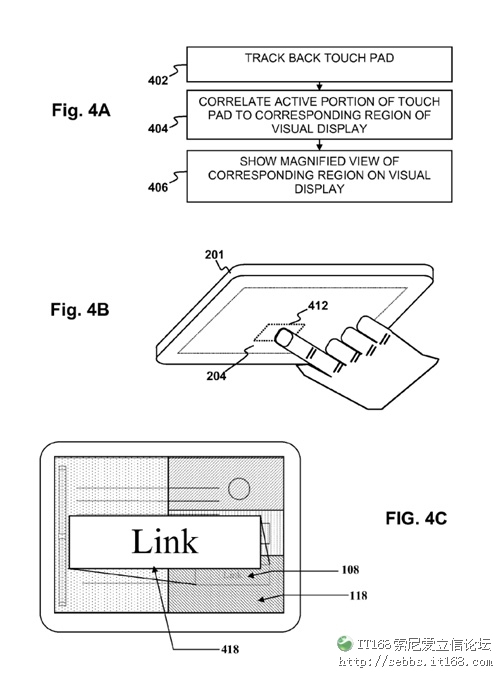 索尼PSP2手机触控板专利图曝光