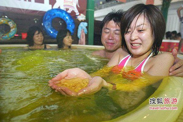 日本恐怖另类温泉 浸泡血地狱拉面碗煮活人-搜