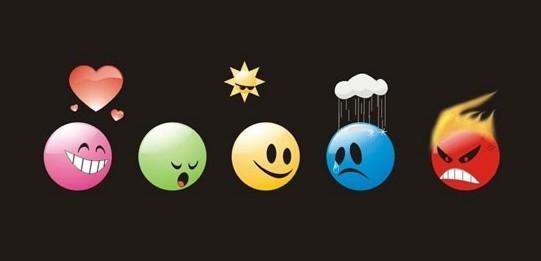 喜怒哀乐等情绪的英语表达例句