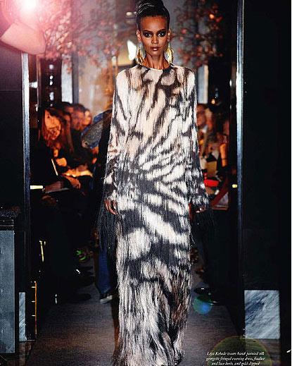 世界上 私密/图注:Tom Ford2011春夏女装