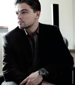 Leonardo DiCaprio佩戴卡莱拉自动计时腕表