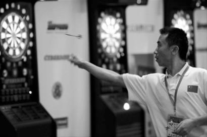 IDF作文世界杯欲打造成上海第4大国际体育赛用乒乓球打屁屁的飞镖图片