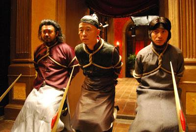 姜武、胡明和陈坤