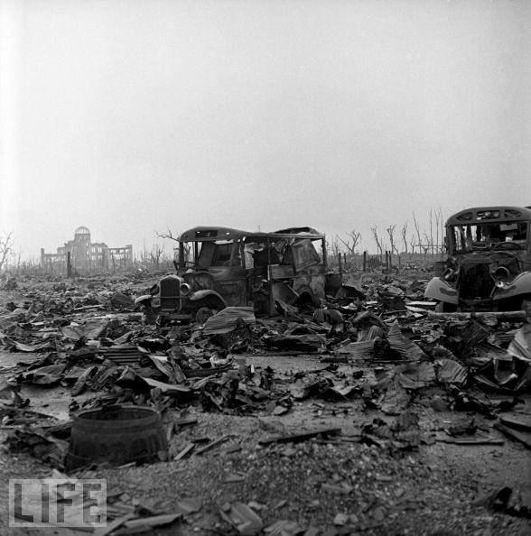 老照片记录遭原子弹袭击前后的日本组图 搜狐