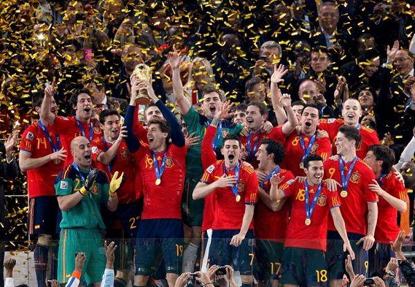 西班牙夺得世界杯