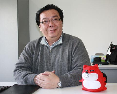 GAP大中华区总裁 杨得铭