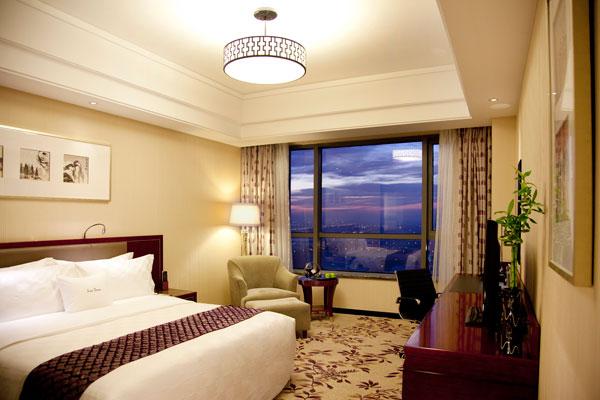 无锡希尔顿逸林酒店豪华客房