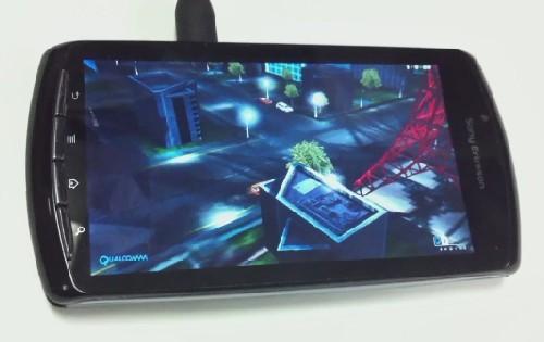 索尼爱立信PSP游戏手机性能测试再曝光