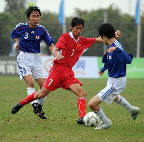 组图:脑瘫足球中国3-0胜日本 林聪昌跪地庆祝图片