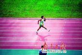 亚残运选手未超三名仍受关注 奔跑没奖牌同精彩