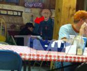 帕克伊娃共进午餐气氛融洽 两人有望和解?(图)